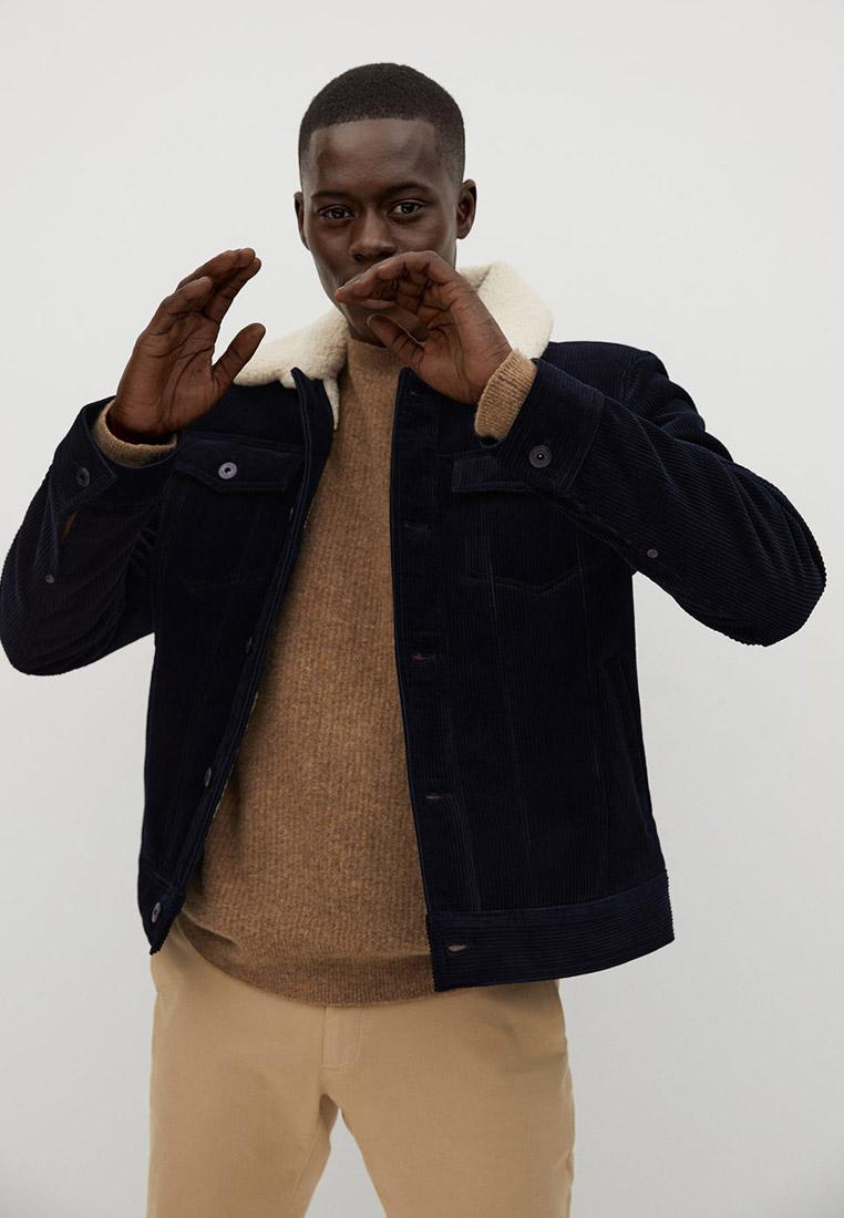 Утепленная куртка Mango Man 77067602
