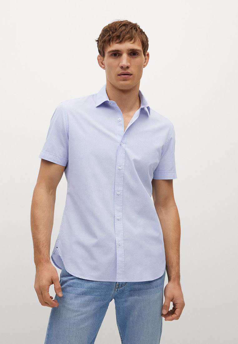 Рубашка с длинным рукавом Mango Man 87020517