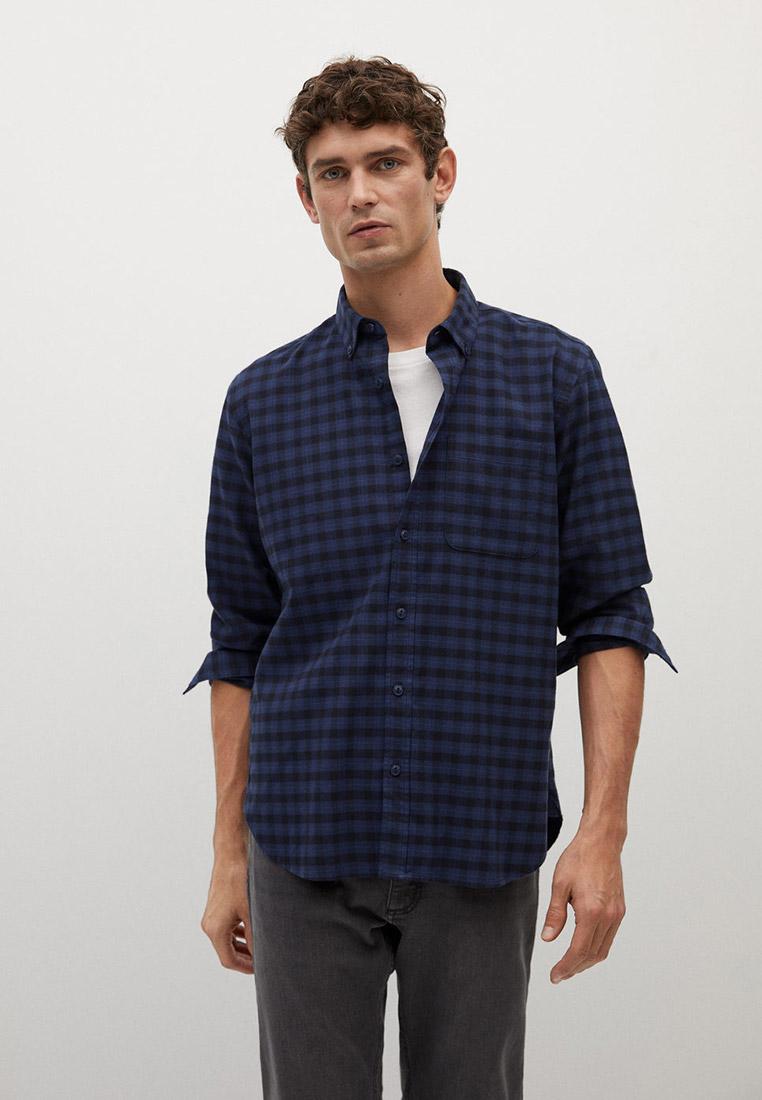 Рубашка с длинным рукавом Mango Man 77077883