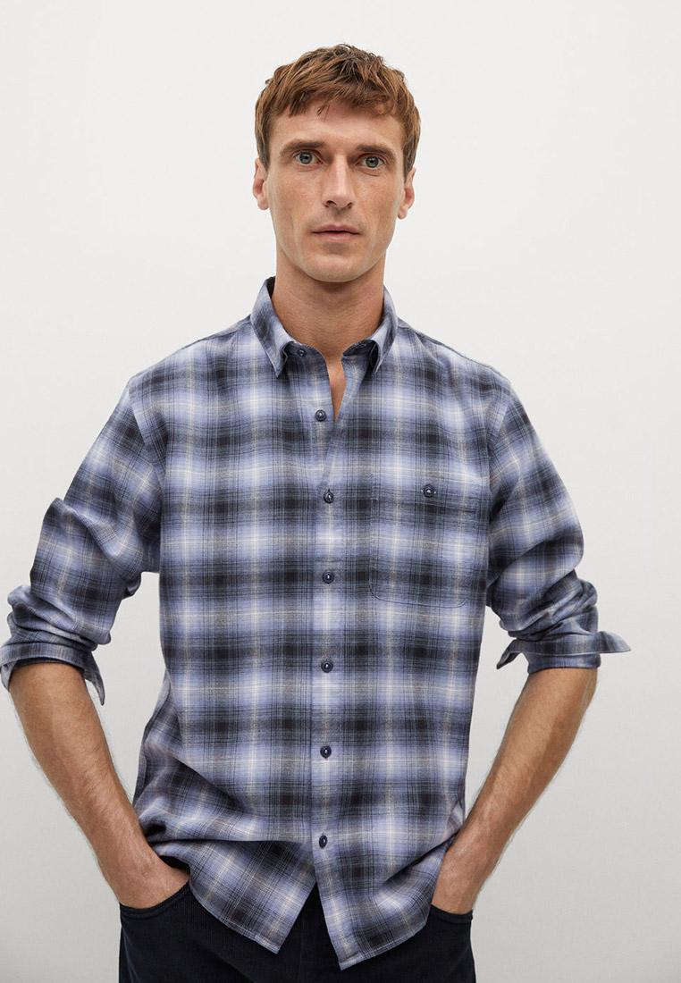 Рубашка с длинным рукавом Mango Man 77007889