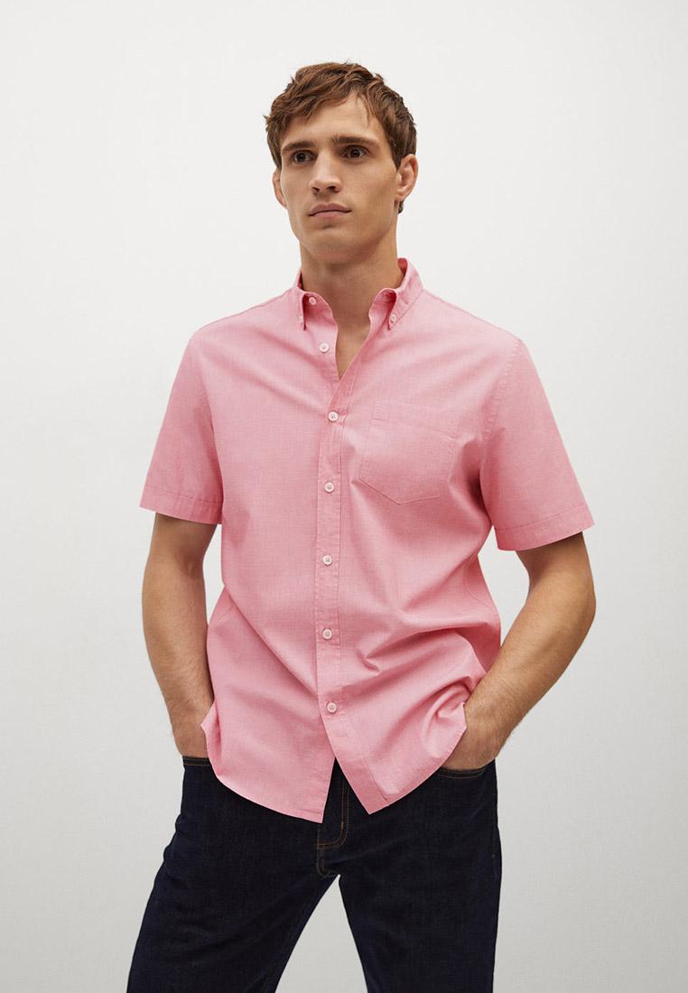 Рубашка с коротким рукавом Mango Man 87040515