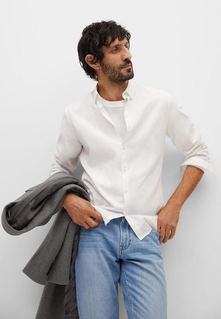 Рубашка с длинным рукавом Mango Man 87080506