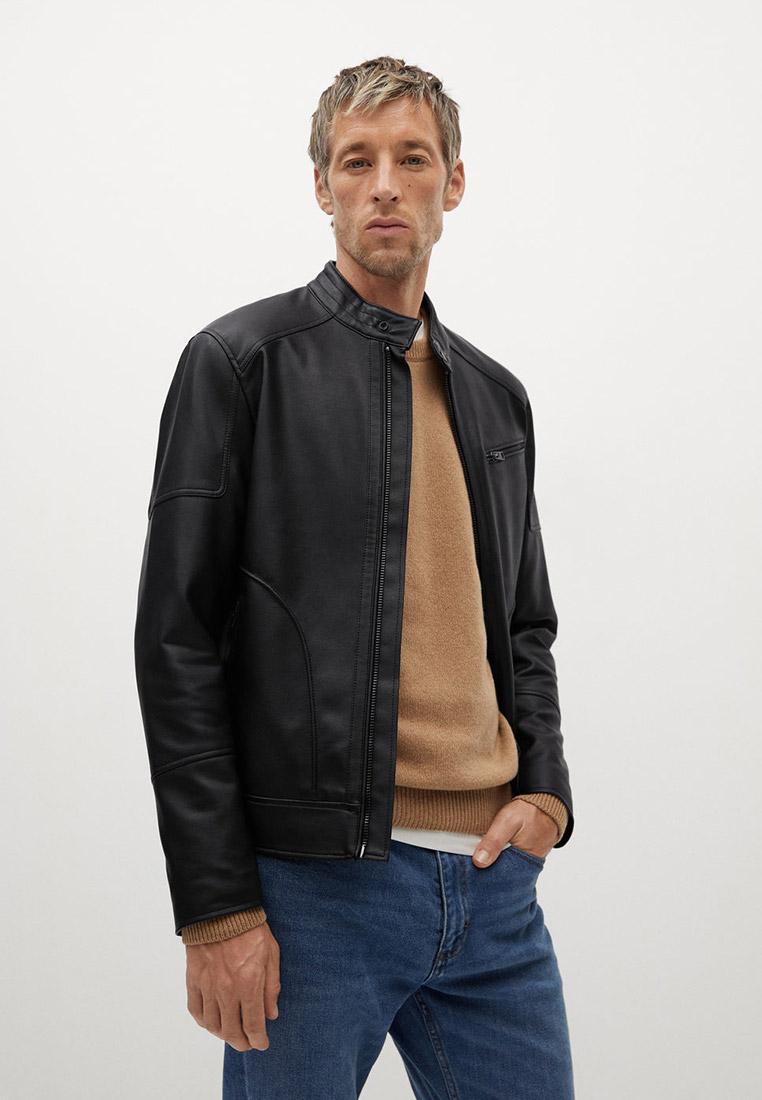 Кожаная куртка Mango Man 87030501