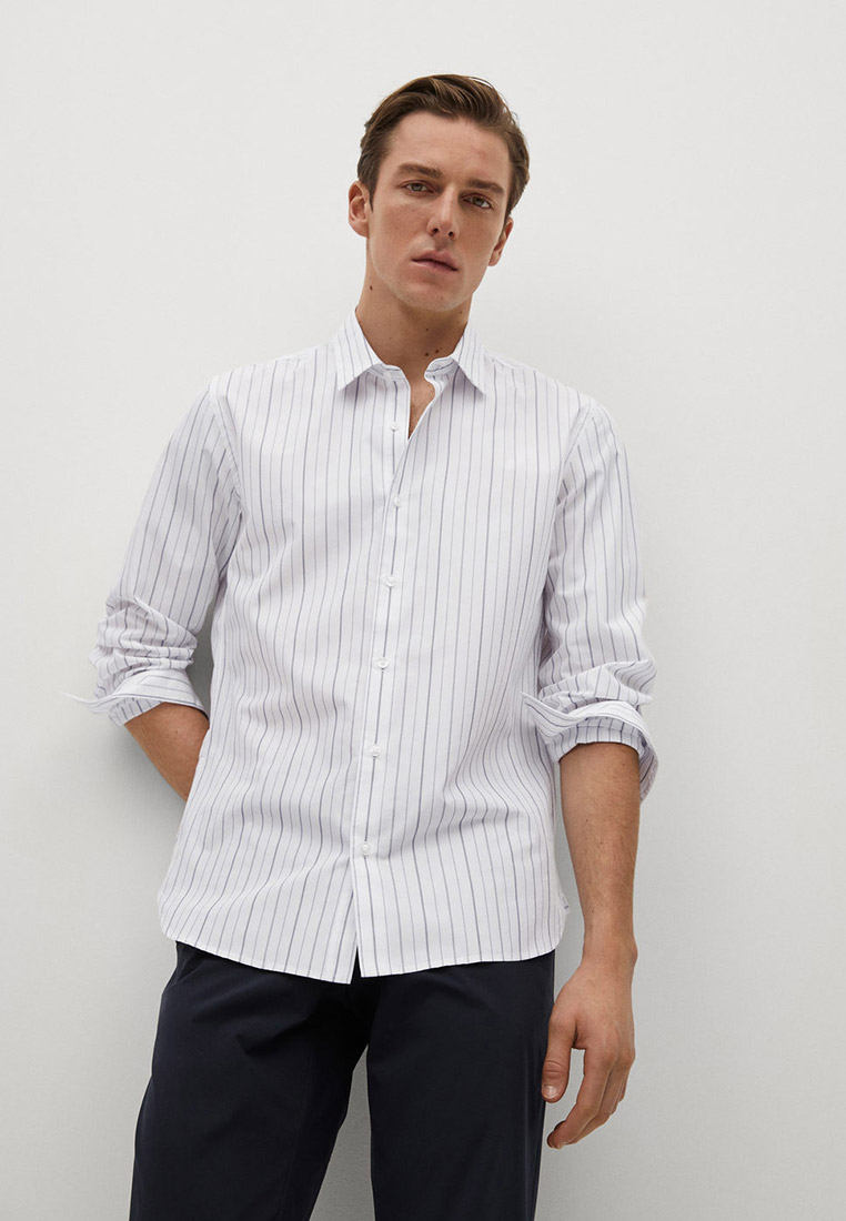 Рубашка с длинным рукавом Mango Man 87004008