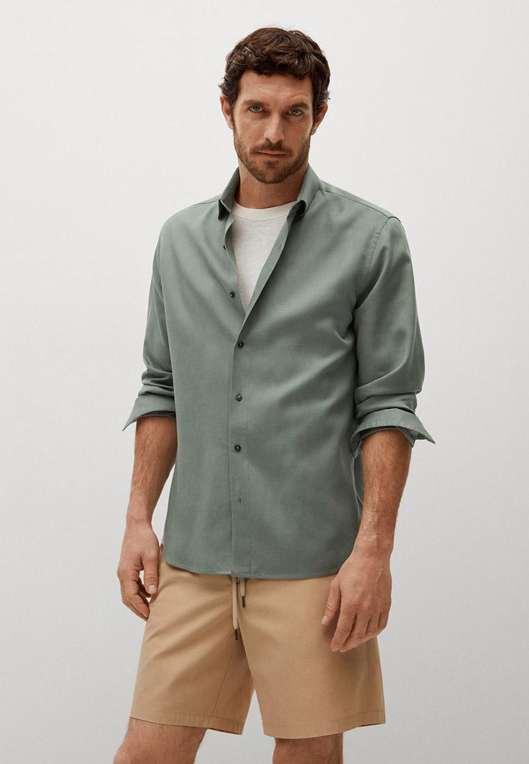 Рубашка с длинным рукавом Mango Man 87076328