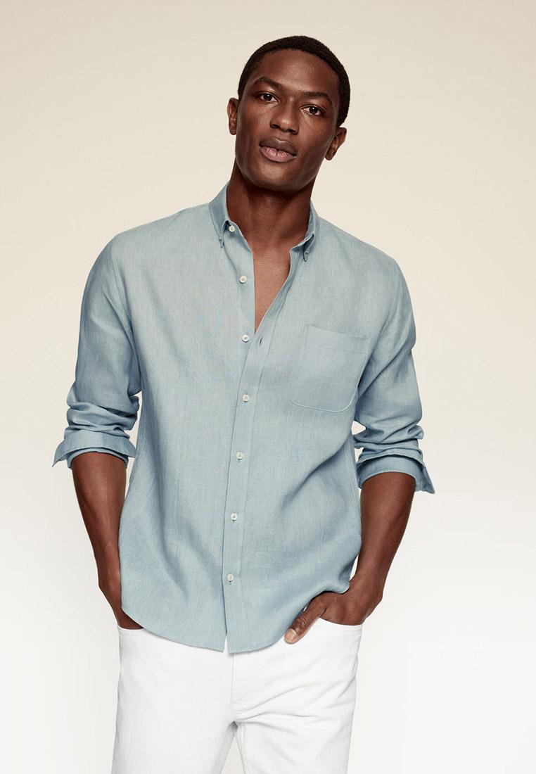Рубашка с длинным рукавом Mango Man 87055624
