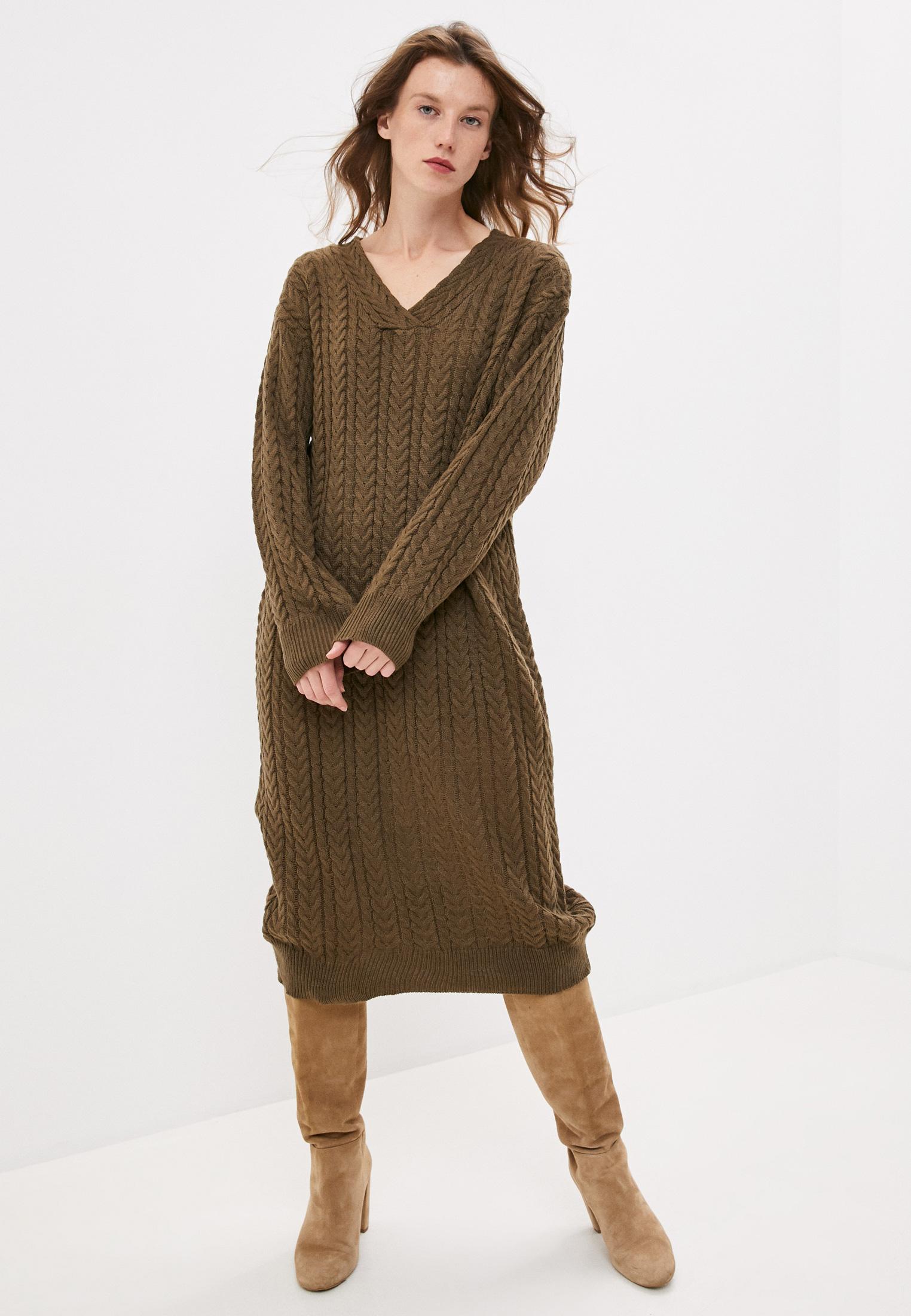 Вязаное платье Hey Look Н200641