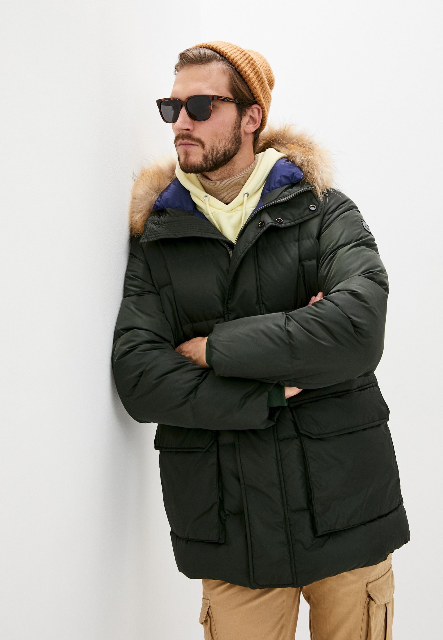 Утепленная куртка Hetrego 8H485M