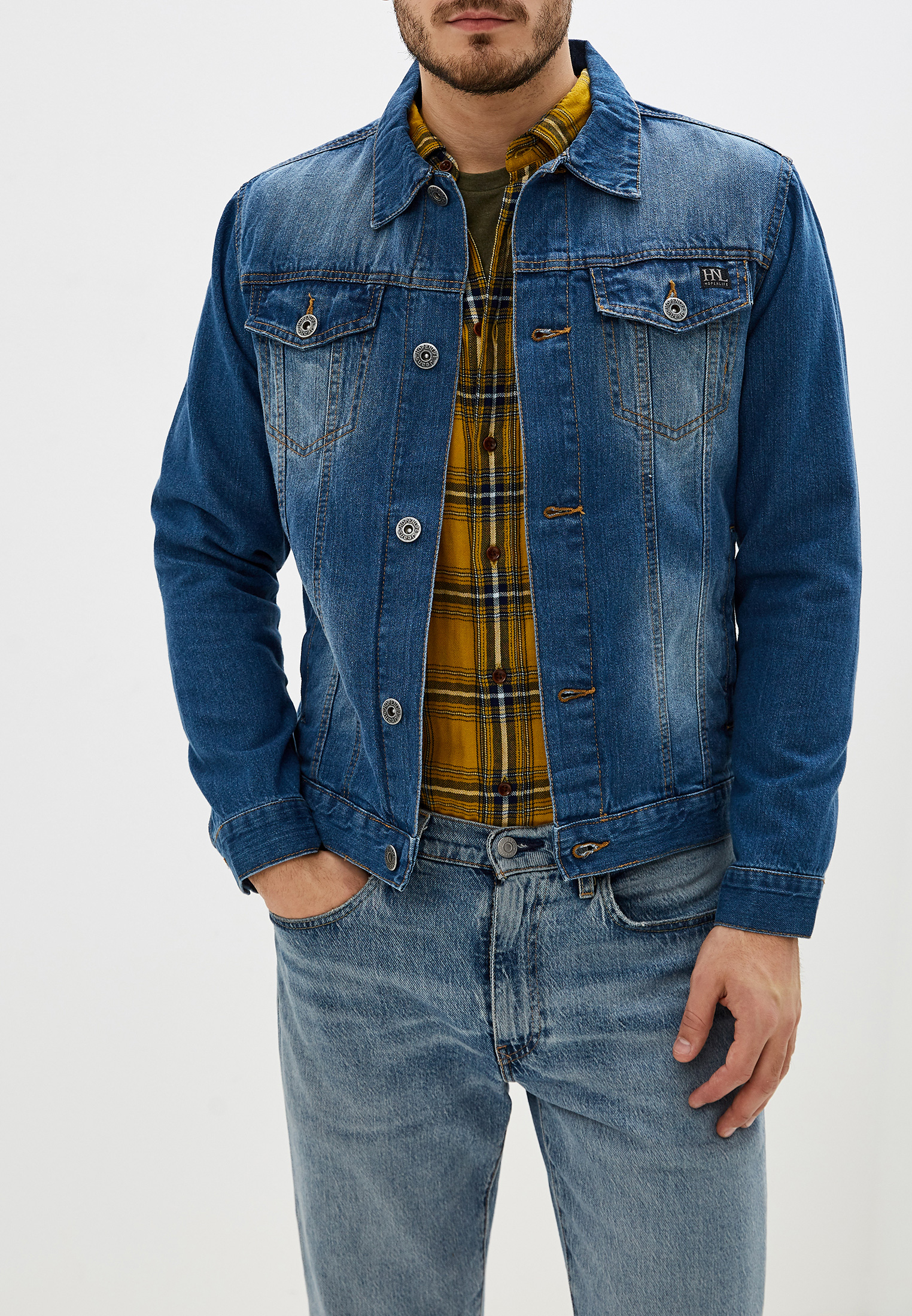 Джинсовая куртка Hopenlife VIKTOR