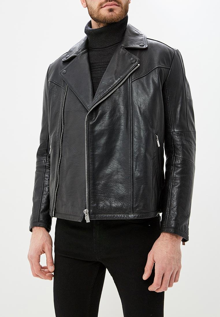 Кожаная куртка Hugo Hugo Boss 50394016