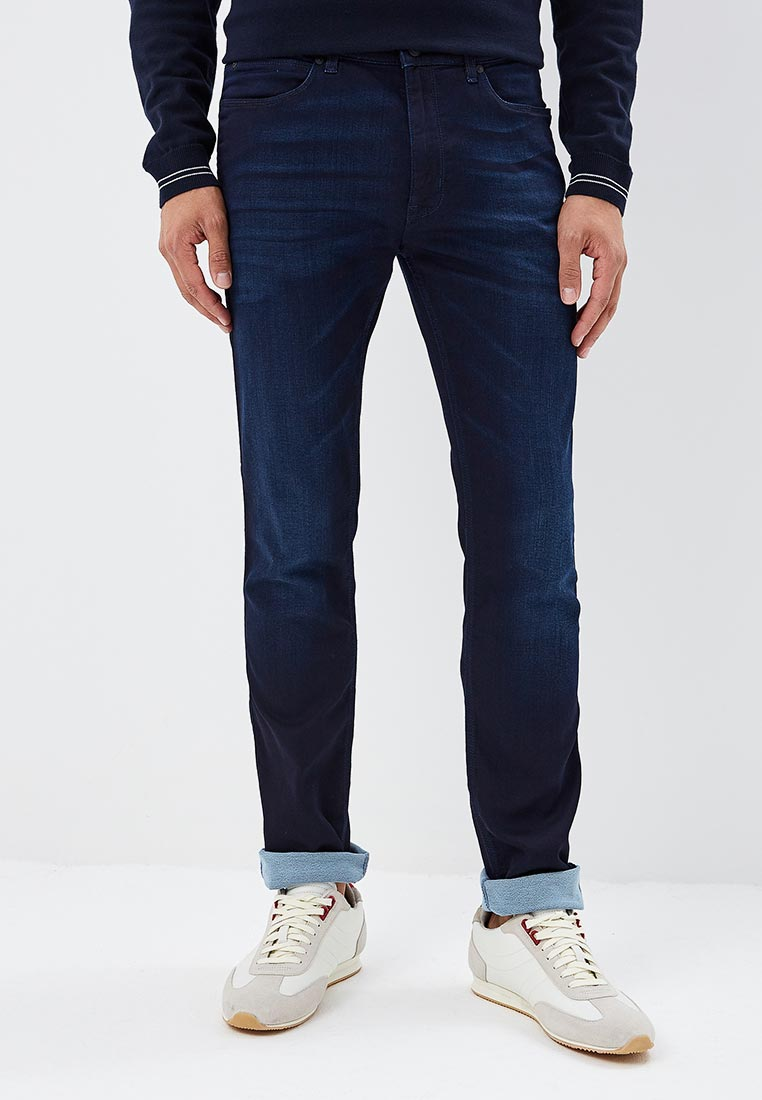 Зауженные джинсы Hugo Hugo Boss 50395139
