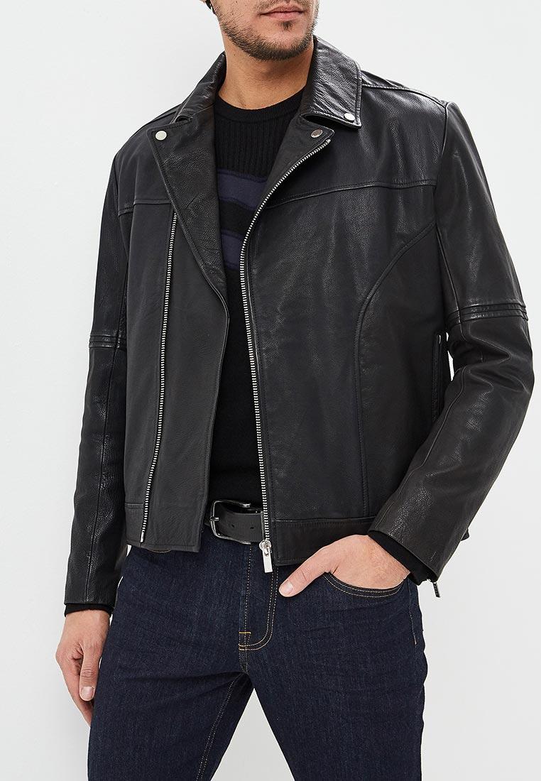 Кожаная куртка Hugo Hugo Boss 50401297