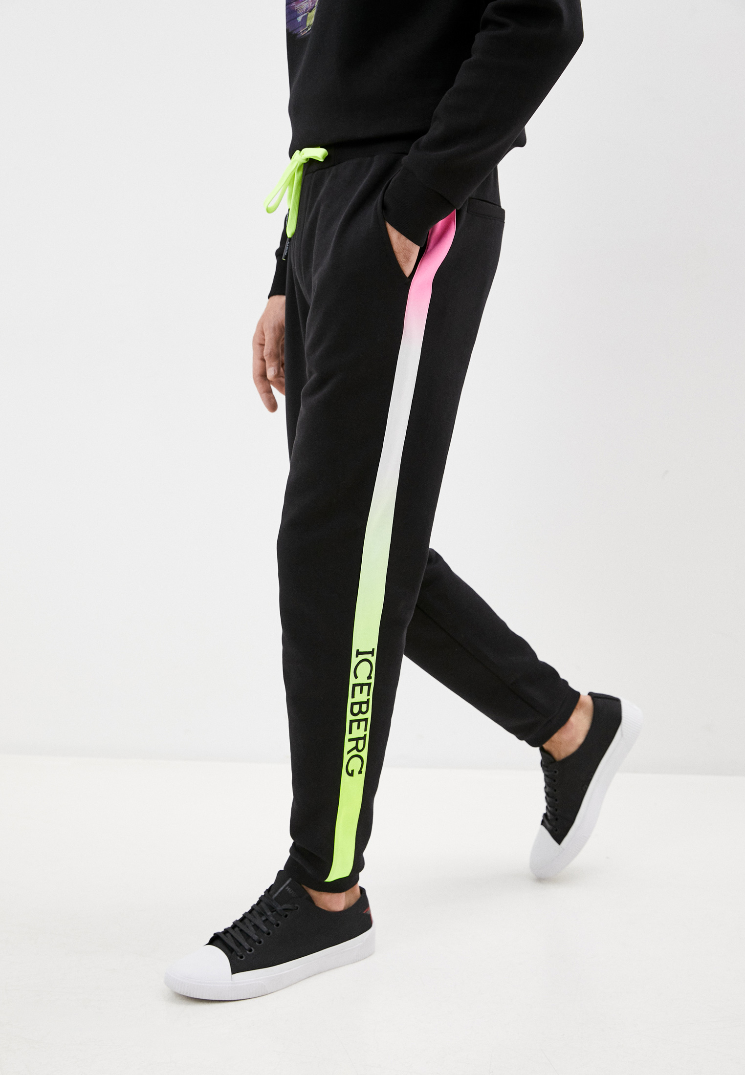 Мужские спортивные брюки Iceberg (Айсберг) I1Pb040 6302