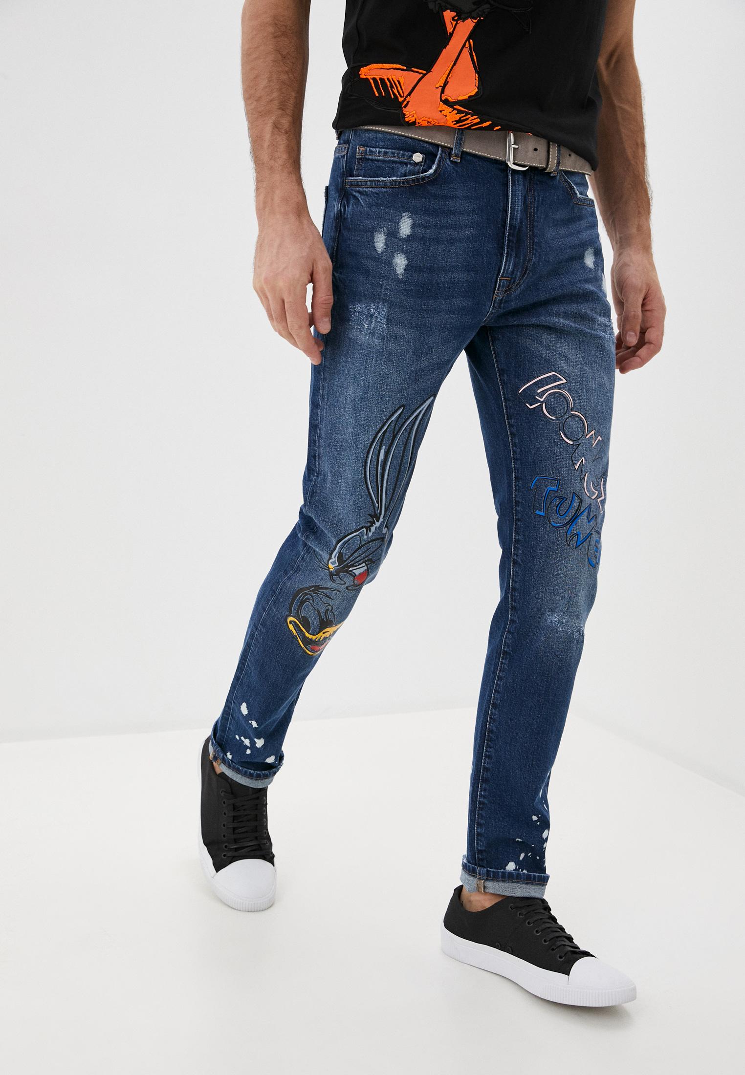 Мужские зауженные джинсы Iceberg (Айсберг) I1P2201 6008