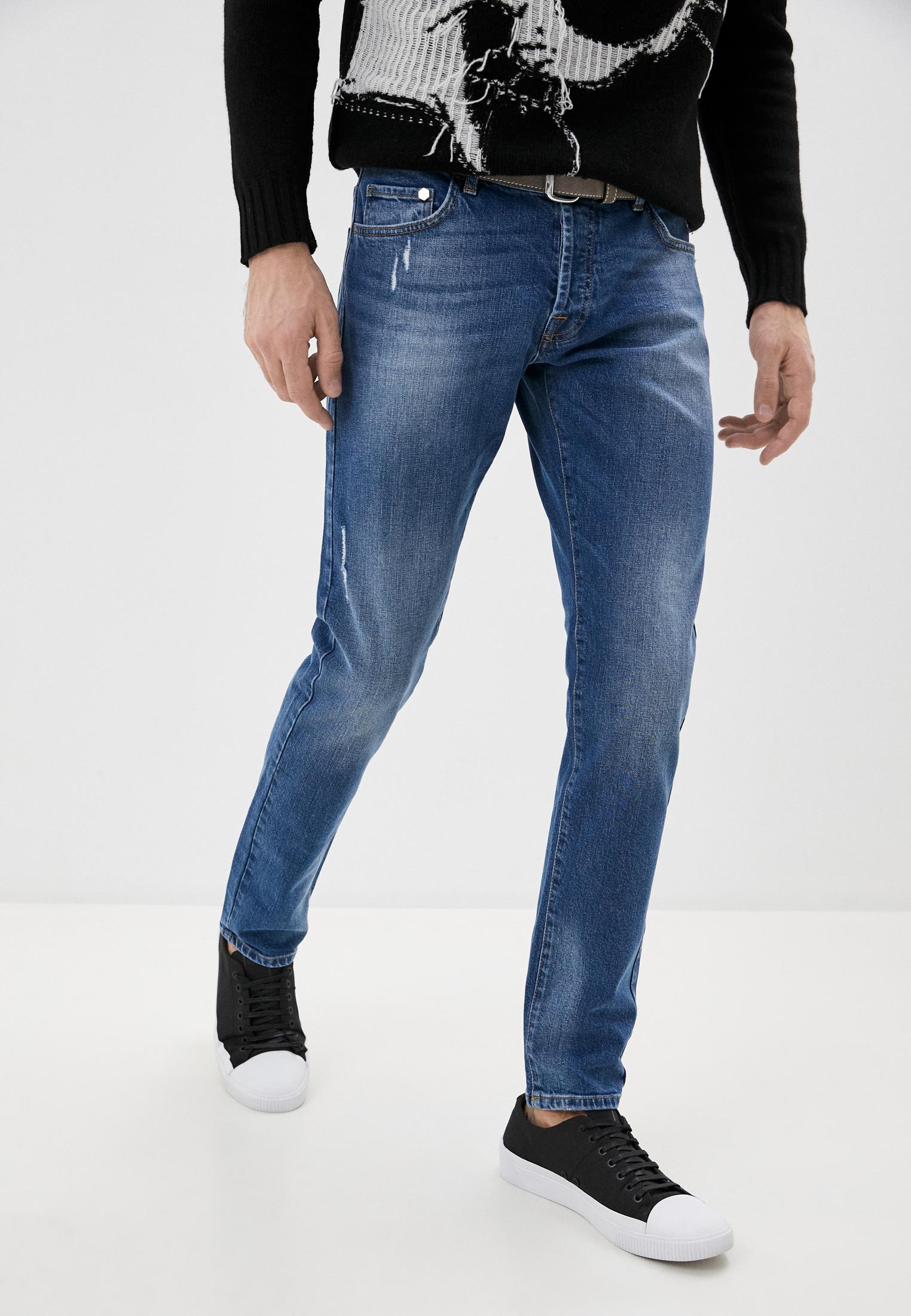 Мужские прямые джинсы Iceberg (Айсберг) I1P2sl1 6008