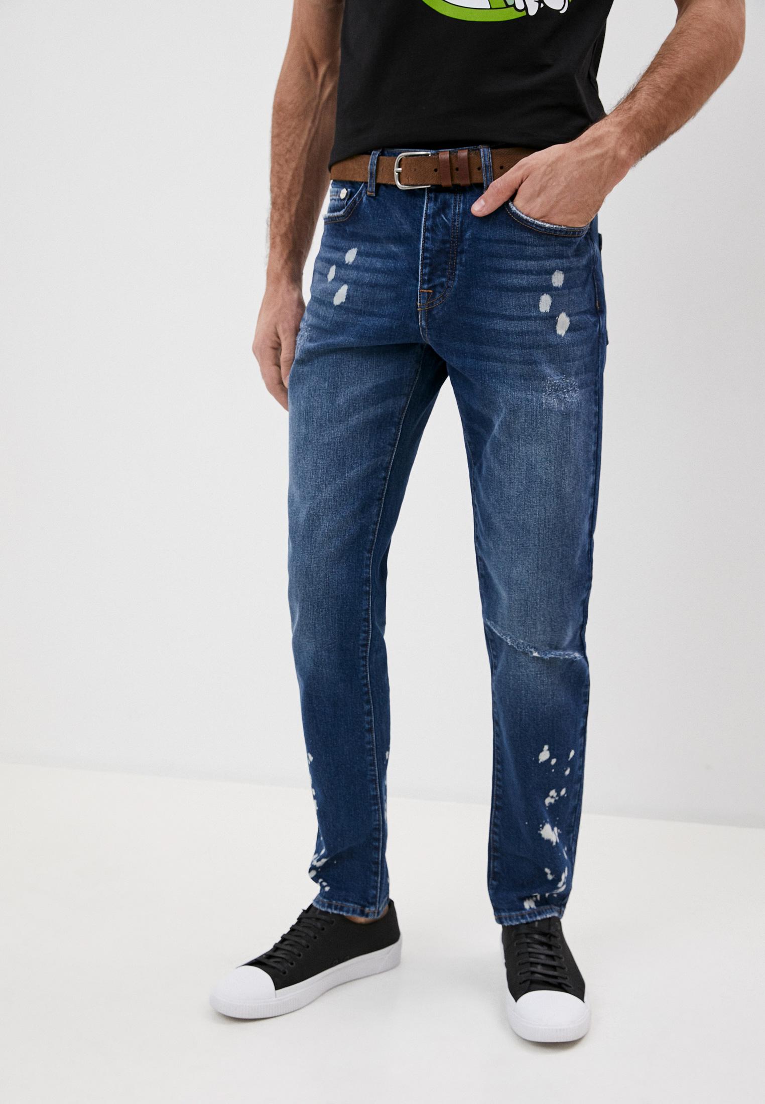 Мужские зауженные джинсы Iceberg (Айсберг) I1P2301 6008