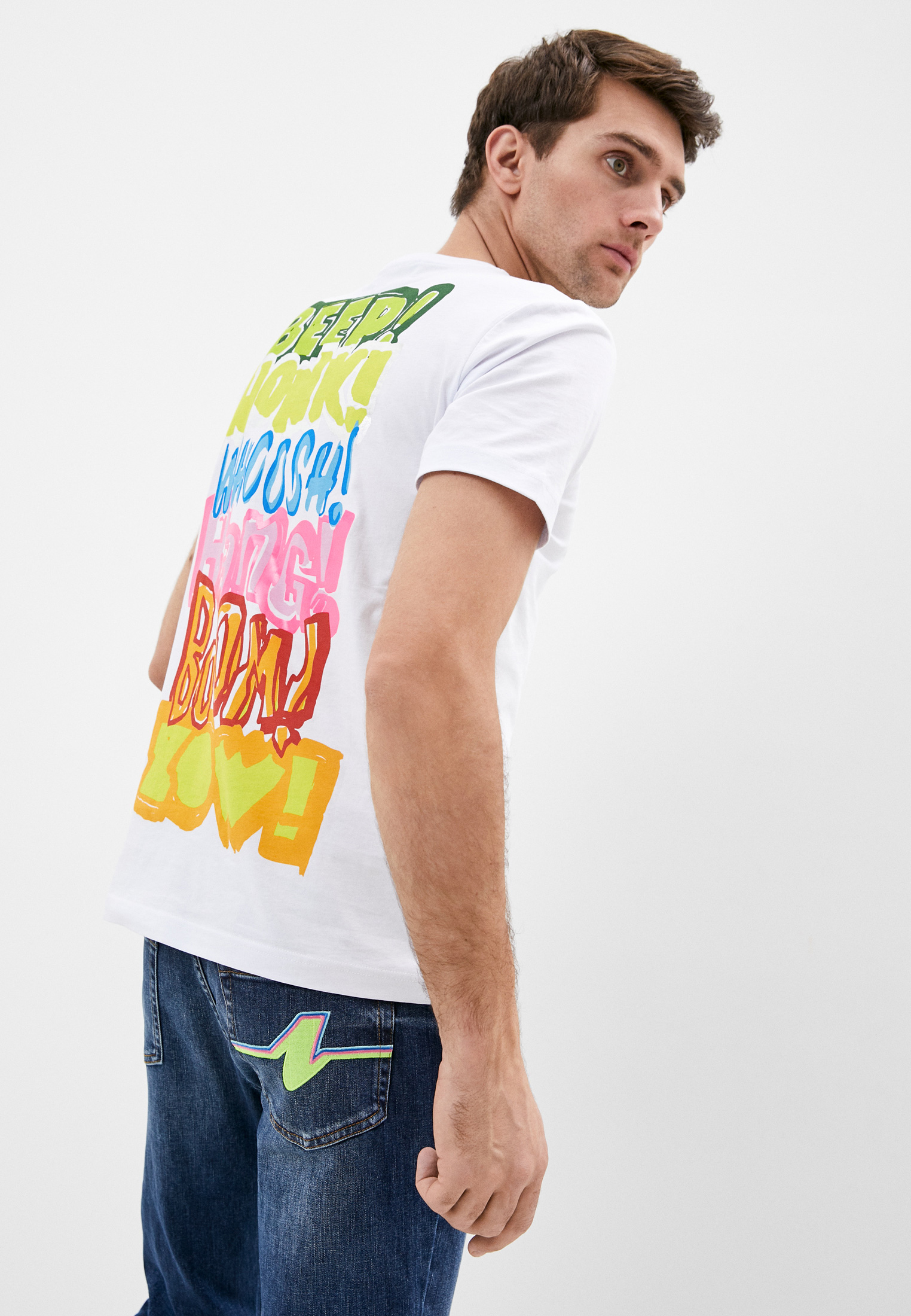 Мужская футболка Iceberg (Айсберг) I1Pf026 6301