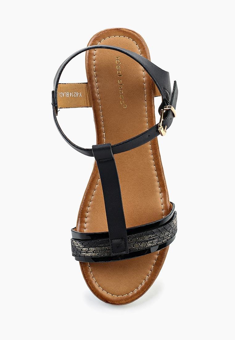Женские босоножки Ideal Shoes Y-8214: изображение 4