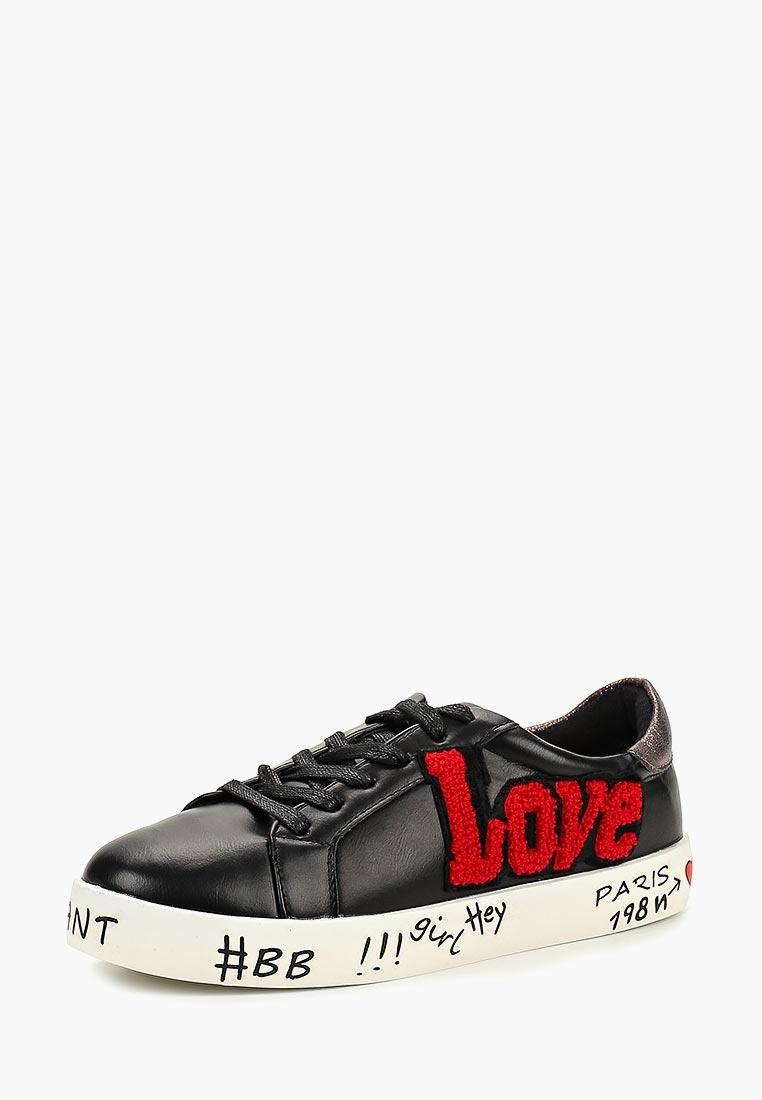 Женские кеды Ideal Shoes A-9274