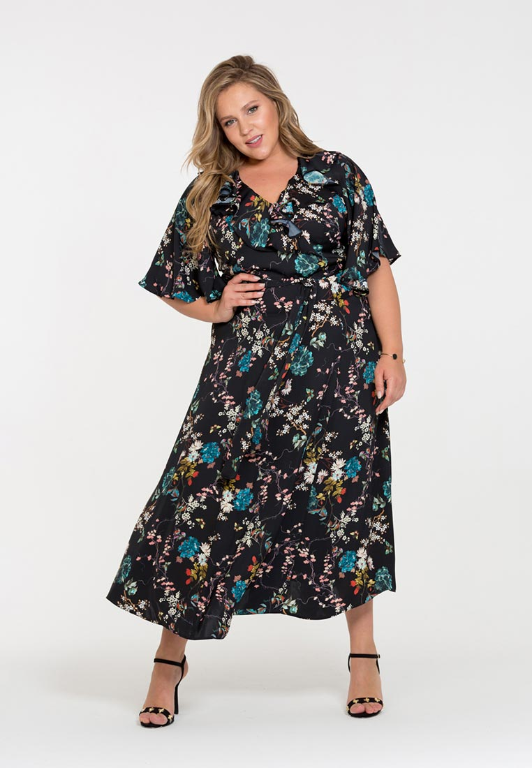 Повседневное платье Интикома 418043