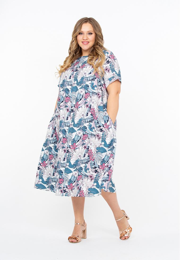 Повседневное платье Интикома 518093
