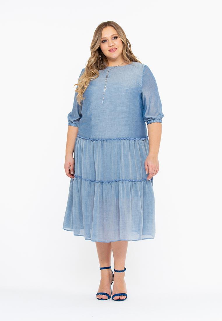 Повседневное платье Интикома 418116