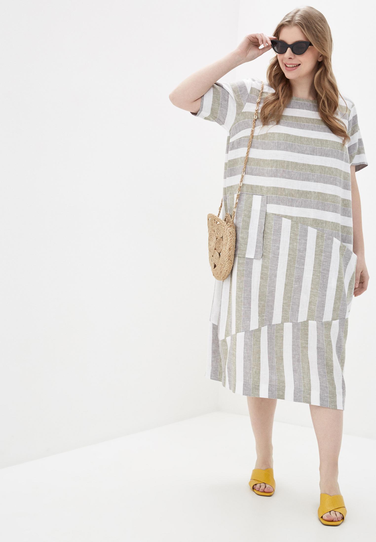 Повседневное платье Интикома 418104