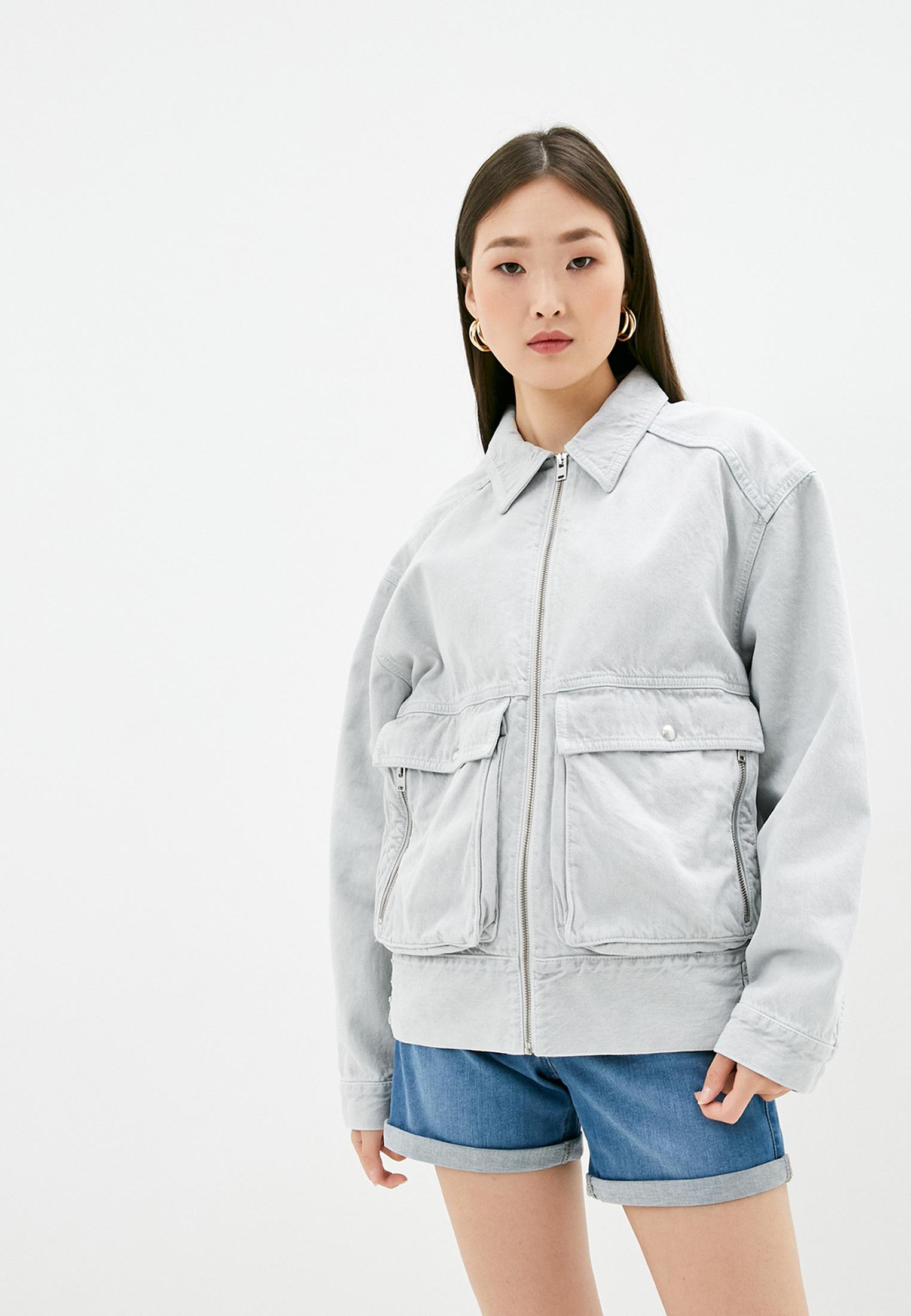 Джинсовая куртка IRO WP08LACHAIS