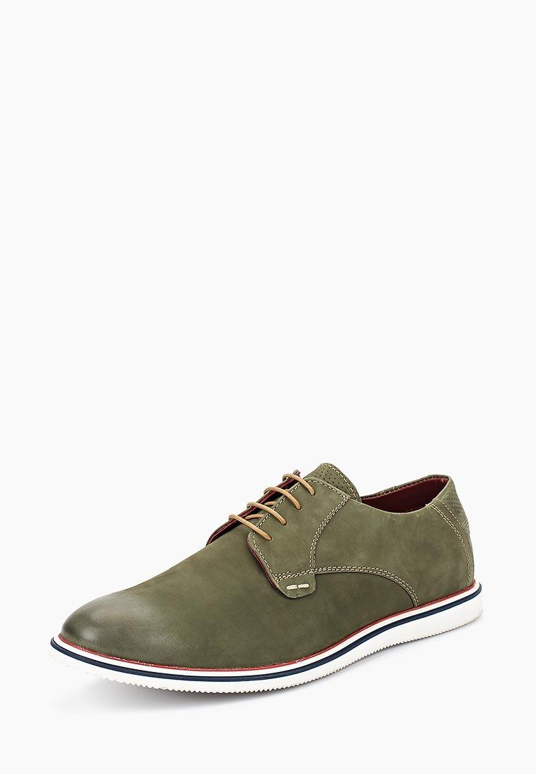 Мужские туфли ITI 7145 green