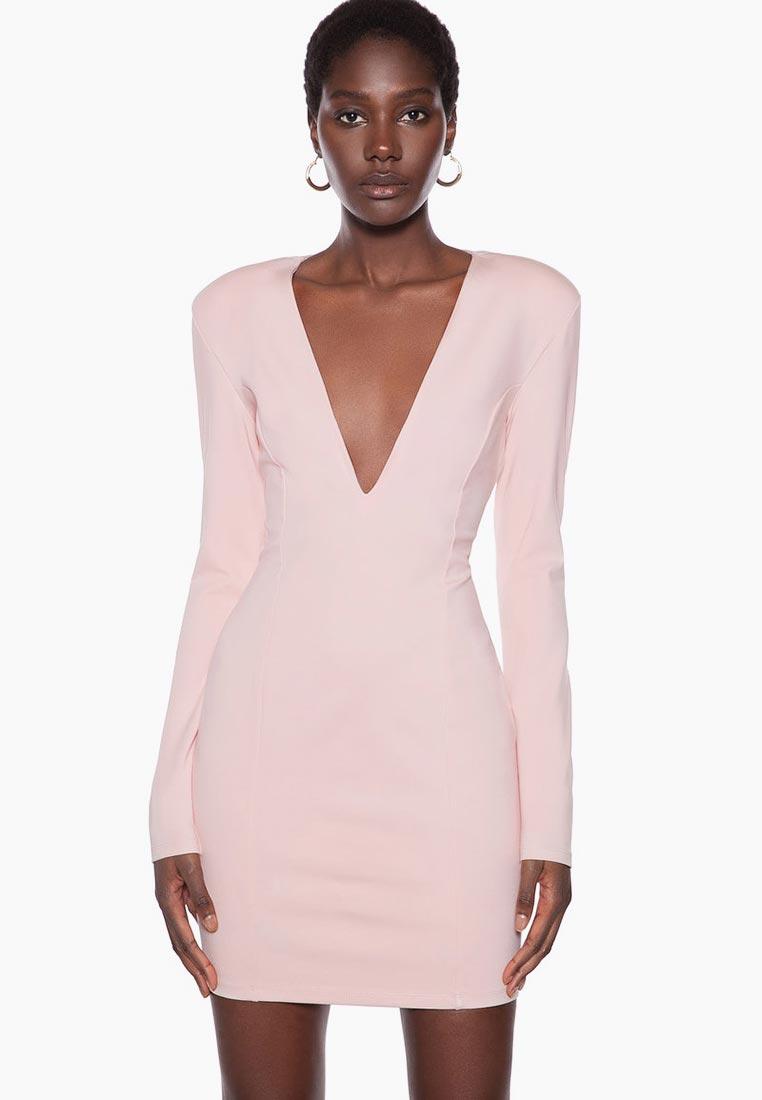 Платье Ivyrevel V NECK LONG SLEEVE MINI DRESS