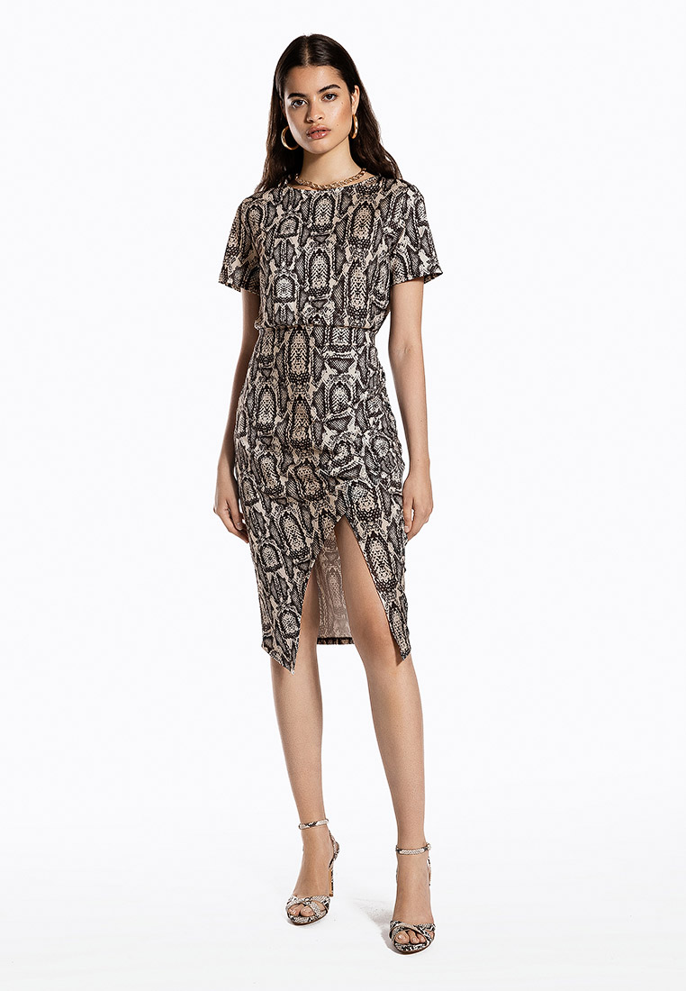 Платье Ivyrevel FRONT WRAP JERSEY DRESS