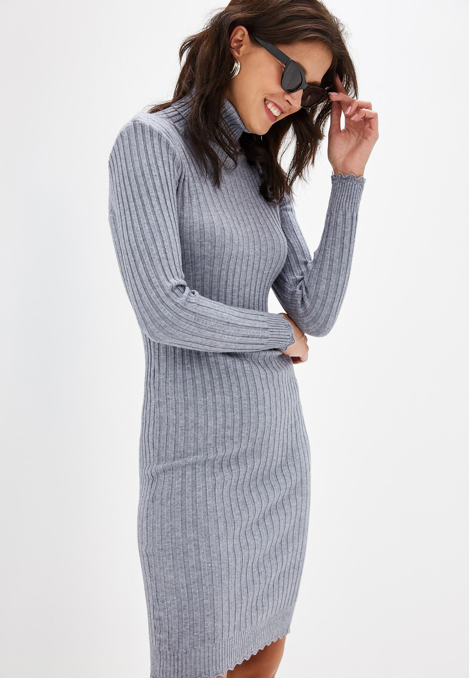 Вязаное платье Izabella IZ5450-9