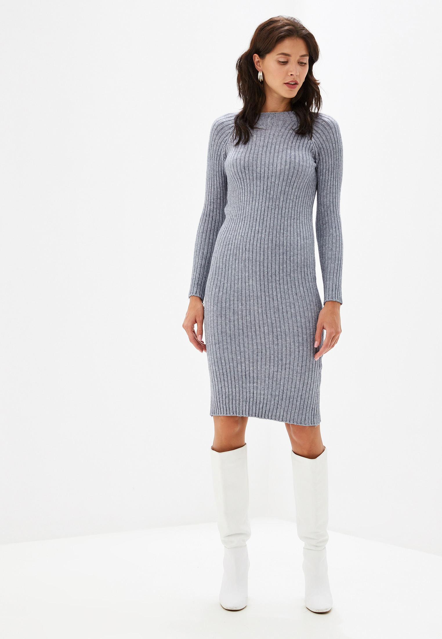 Вязаное платье Izabella IZ5451-1