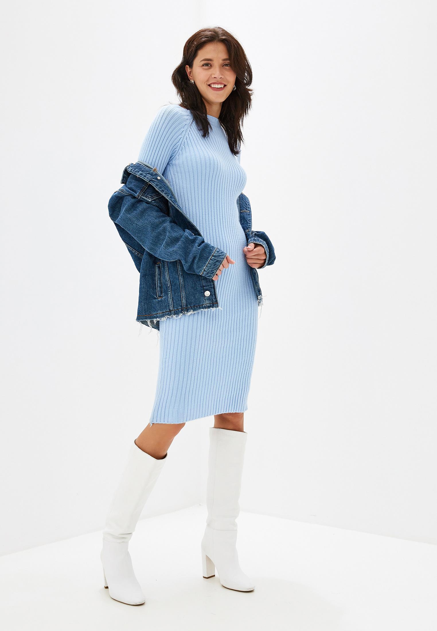 Вязаное платье Izabella IZ5451-7