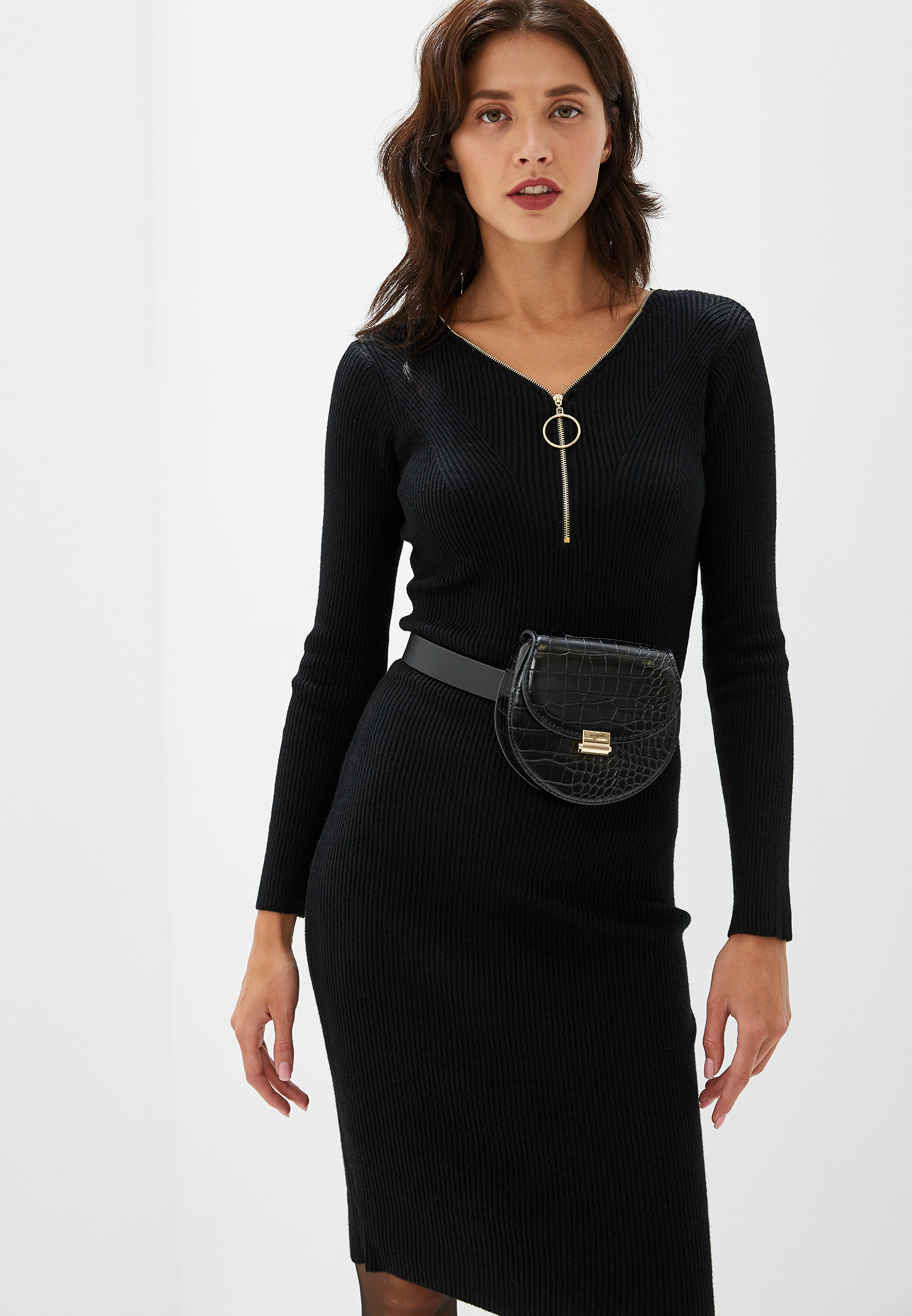 Вязаное платье Izabella IZ5452-5