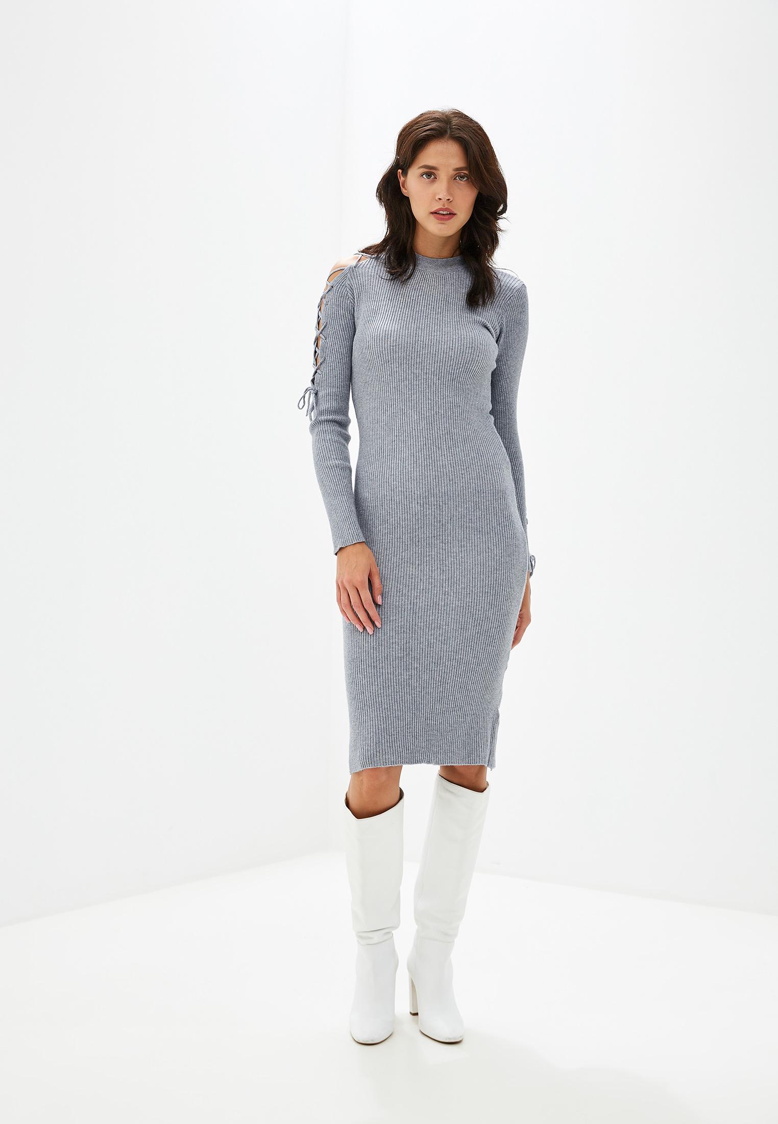 Вязаное платье Izabella IZ5489-6