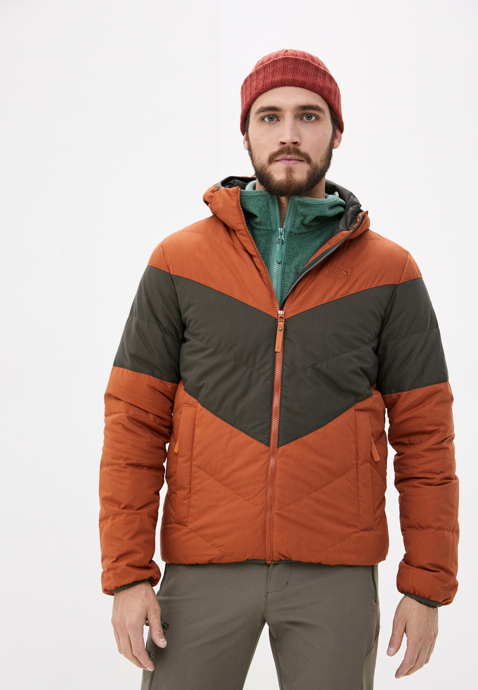 Утепленная куртка Jack Wolfskin 1205911-5090