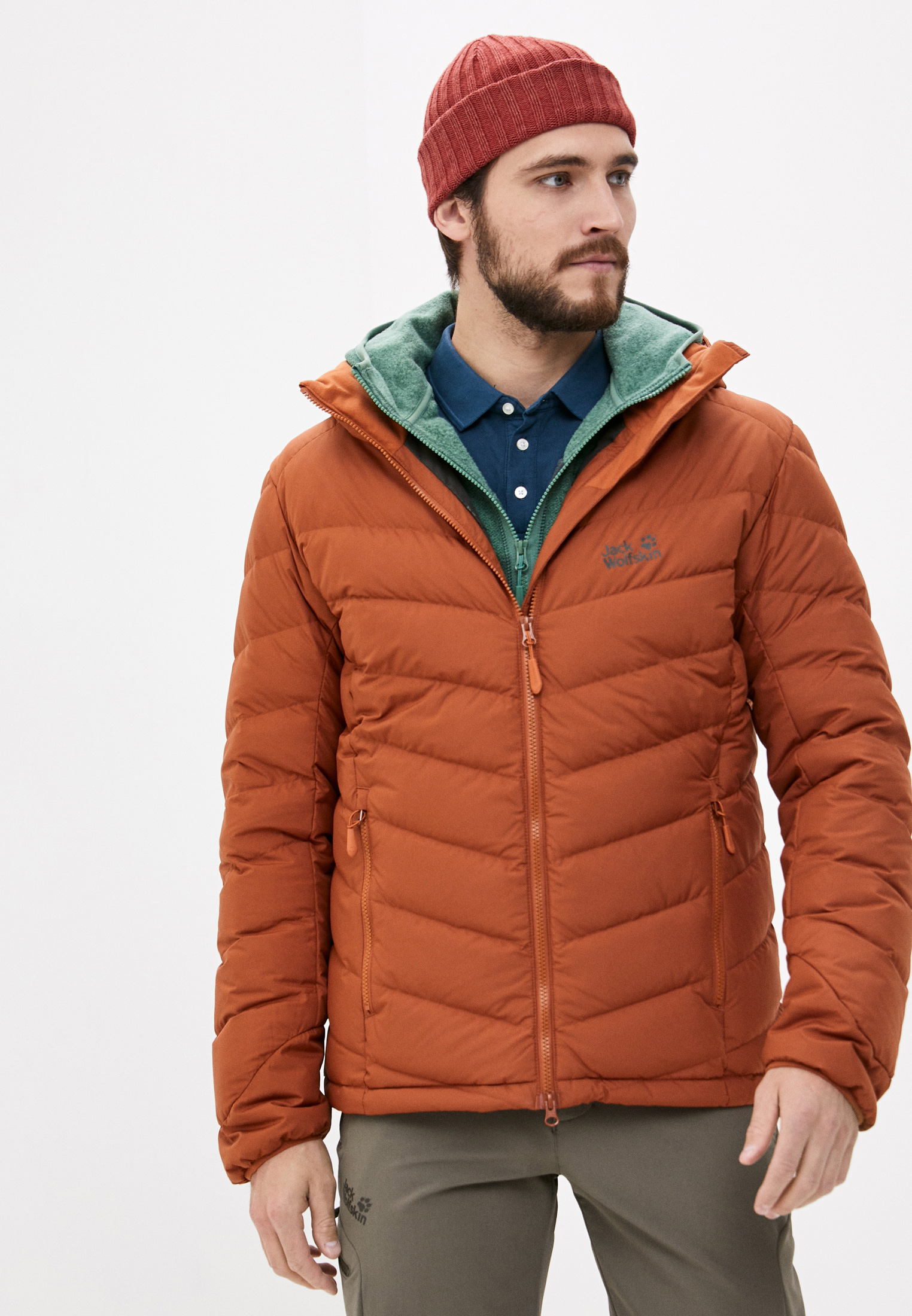 Утепленная куртка Jack Wolfskin 1203591-5090