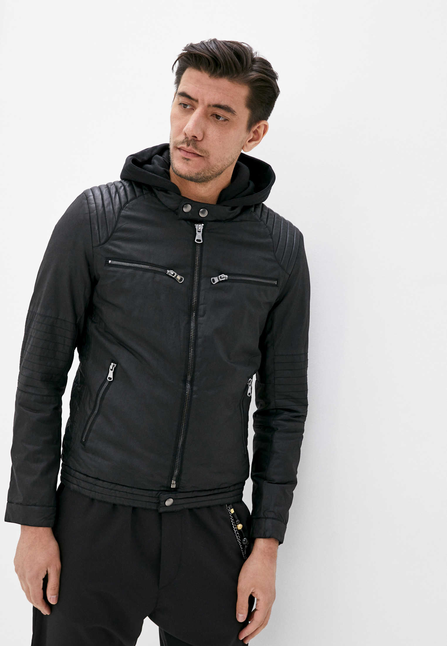 Кожаная куртка Jackets Industry M525