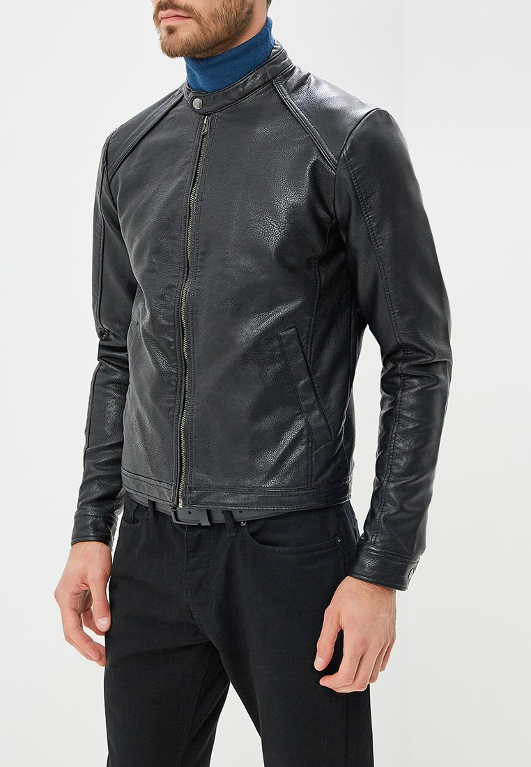 Кожаная куртка Jack & Jones (Джек Энд Джонс) 12141081