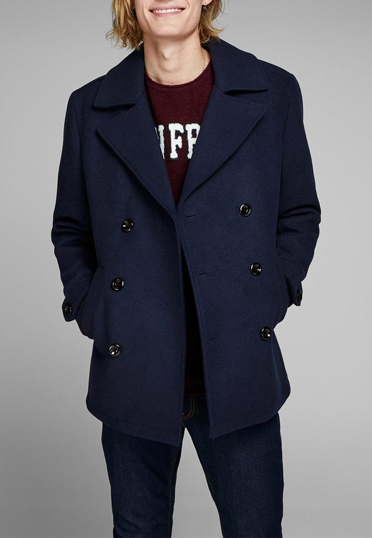 Мужские пальто Jack & Jones (Джек Энд Джонс) 12139551