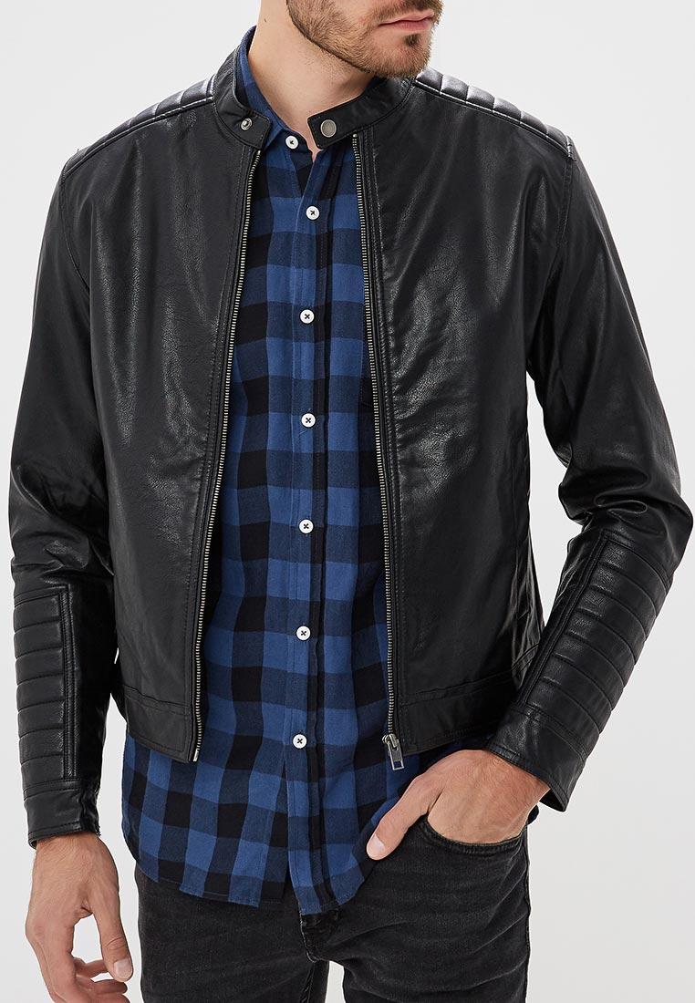 Кожаная куртка Jack & Jones (Джек Энд Джонс) 12139920