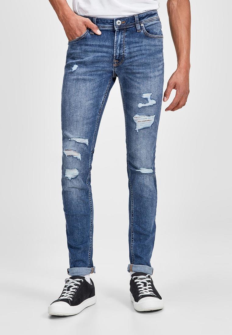 Зауженные джинсы Jack & Jones (Джек Энд Джонс) 12141448
