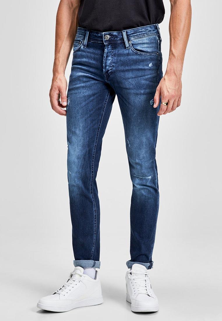 Зауженные джинсы Jack & Jones (Джек Энд Джонс) 12139973