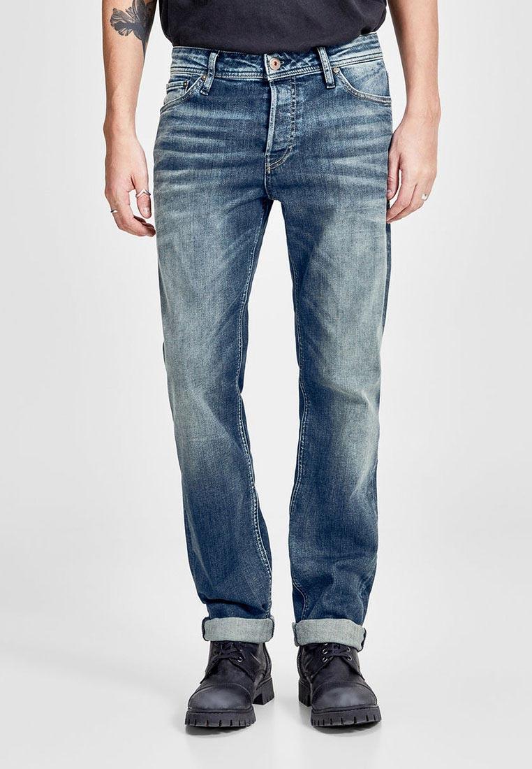 Мужские прямые джинсы Jack & Jones (Джек Энд Джонс) 12136345