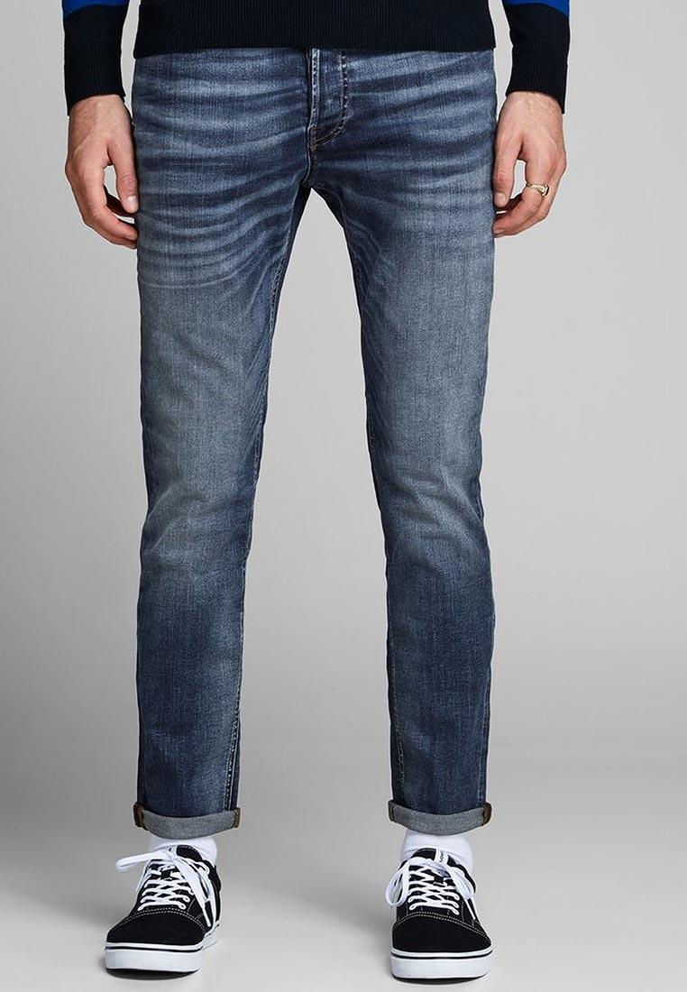 Мужские прямые джинсы Jack & Jones (Джек Энд Джонс) 12147893