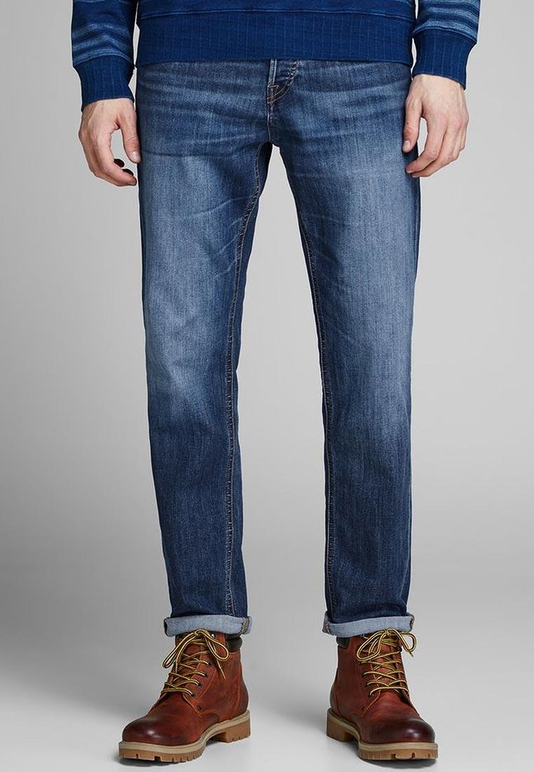 Мужские прямые джинсы Jack & Jones (Джек Энд Джонс) 12148873