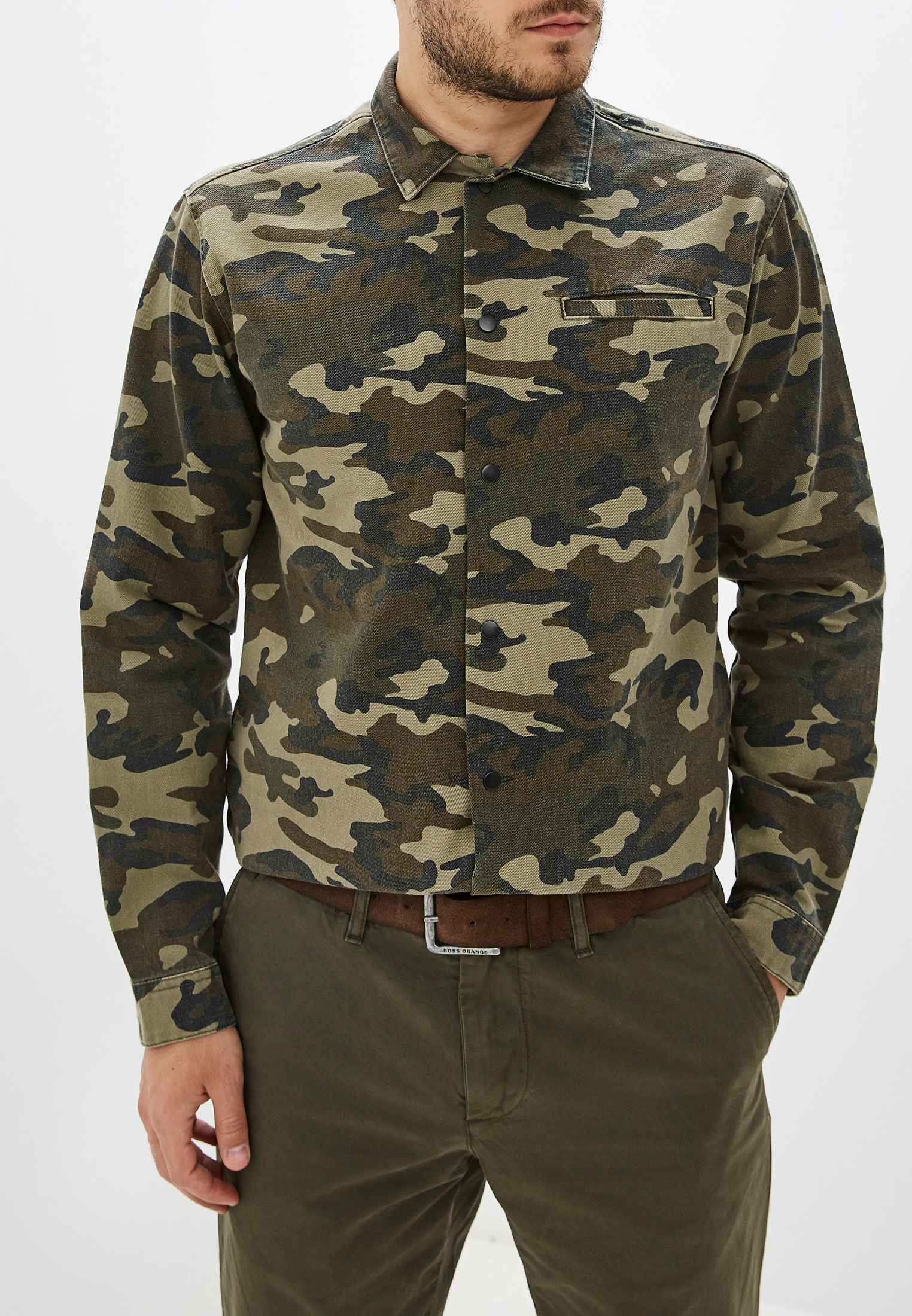 Рубашка с длинным рукавом Jack & Jones 12154509