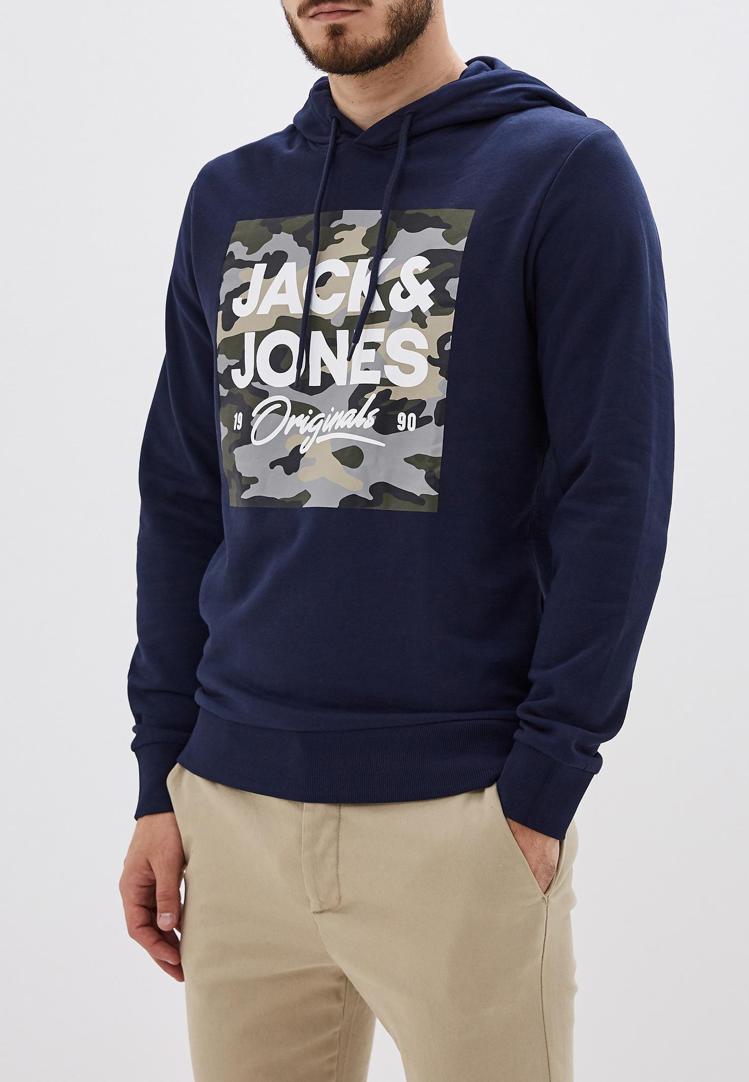 Мужские худи Jack & Jones (Джек Энд Джонс) 12155837