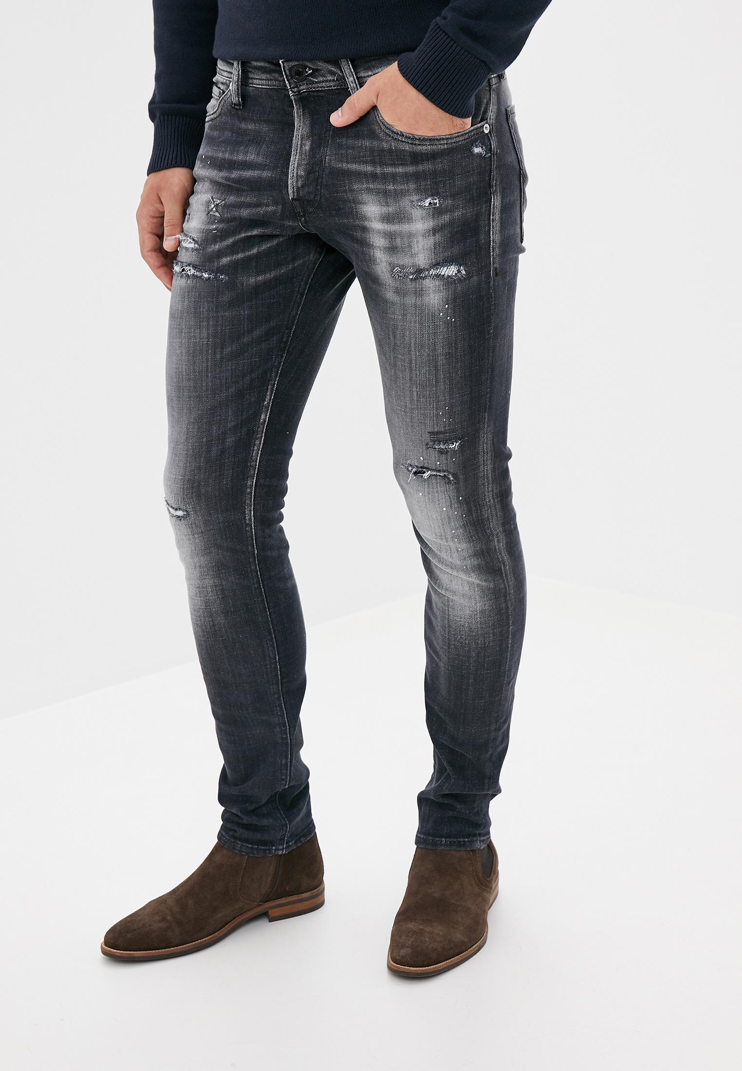 Зауженные джинсы Jack & Jones (Джек Энд Джонс) 12156664